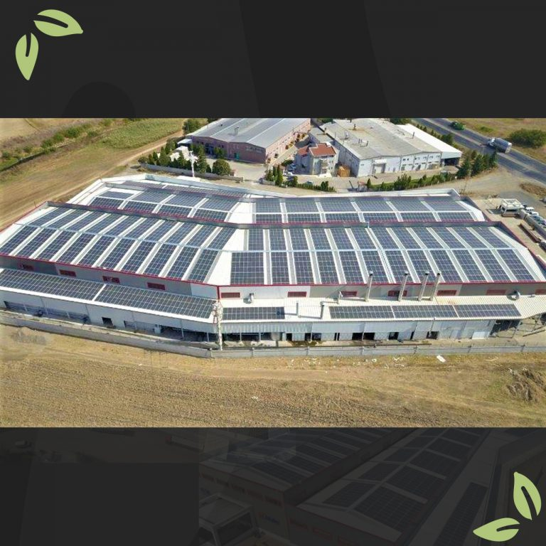 Kisbu Group, yeşil enerji (GES) çalışmalarında da sektöre öncülük etmeye devam ediyor.